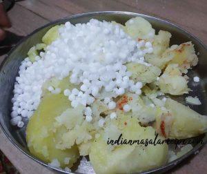 Tasty-crispy-sagu-tikki-recipe