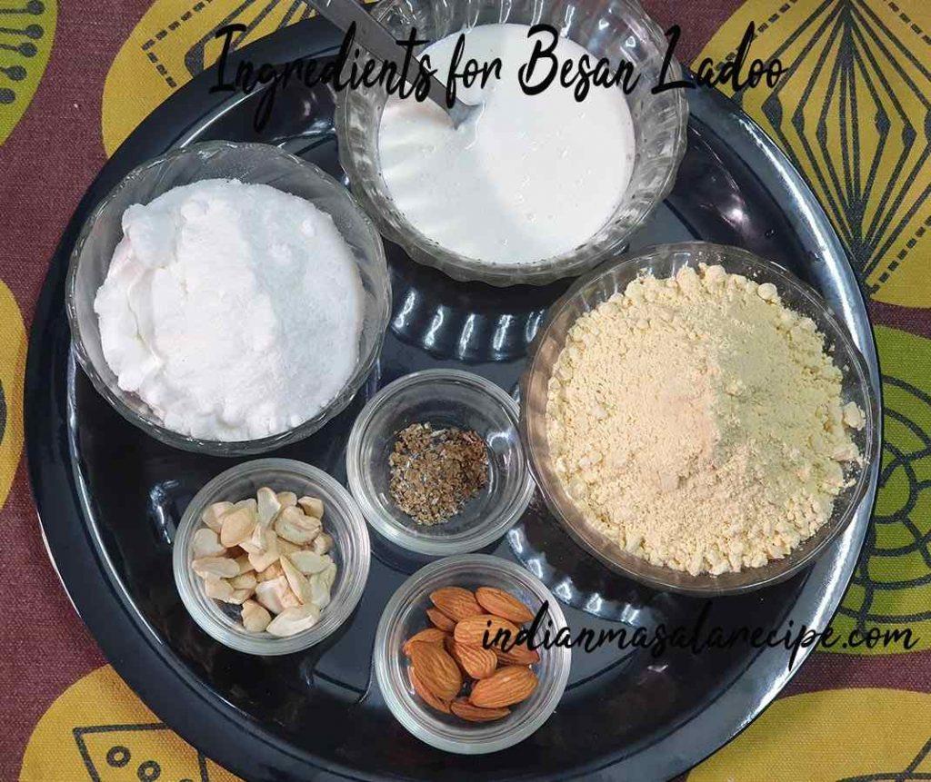 Ingredients-for-besan-ladoo